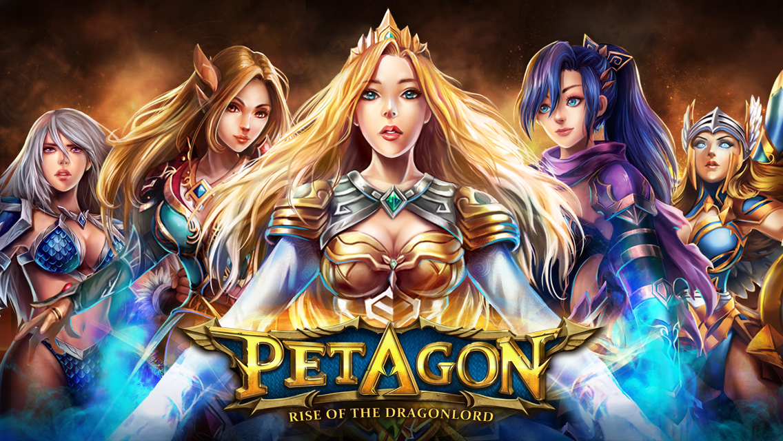 Tame the Dragon in Petagon - The New Action Strategy Mobile Game Image